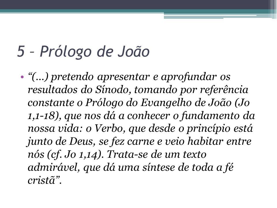 5 – Prólogo de João