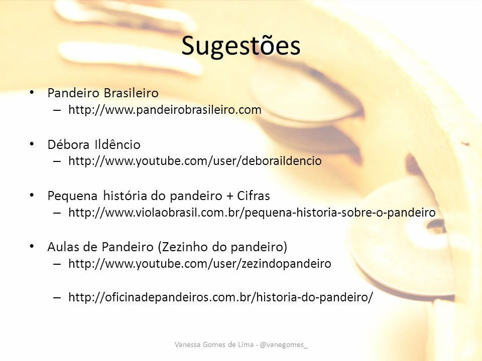 Vanessa Gomes de Lima - @vanegomes_
