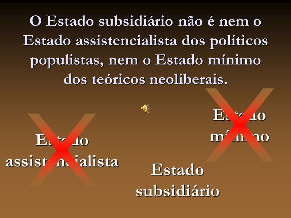 Estado assistencialista
