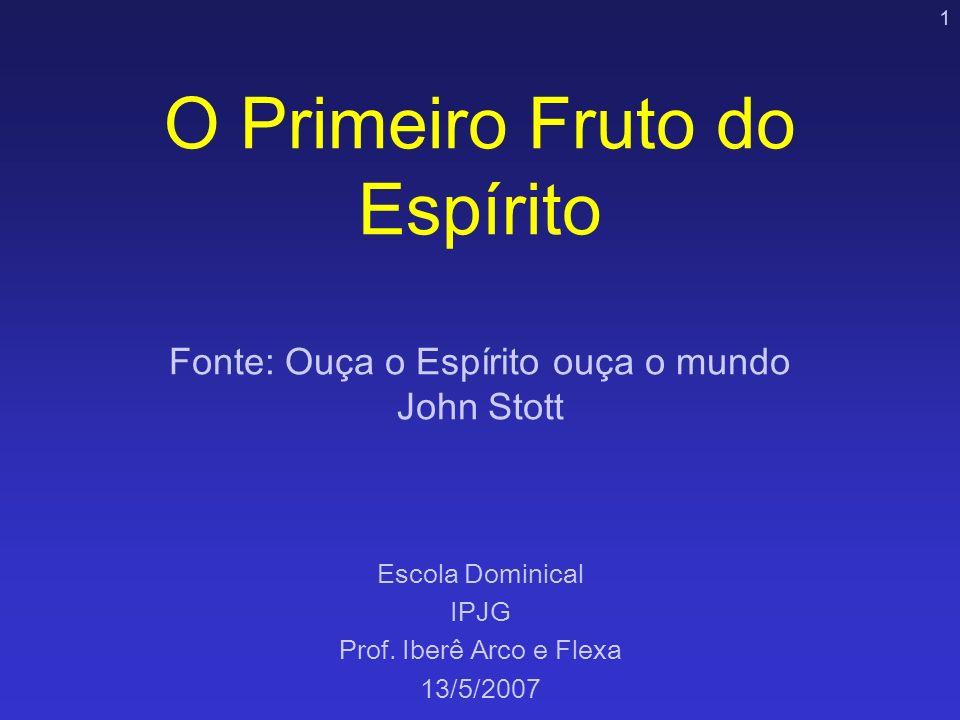 Escola Dominical IPJG Prof. Iberê Arco e Flexa 13/5/2007