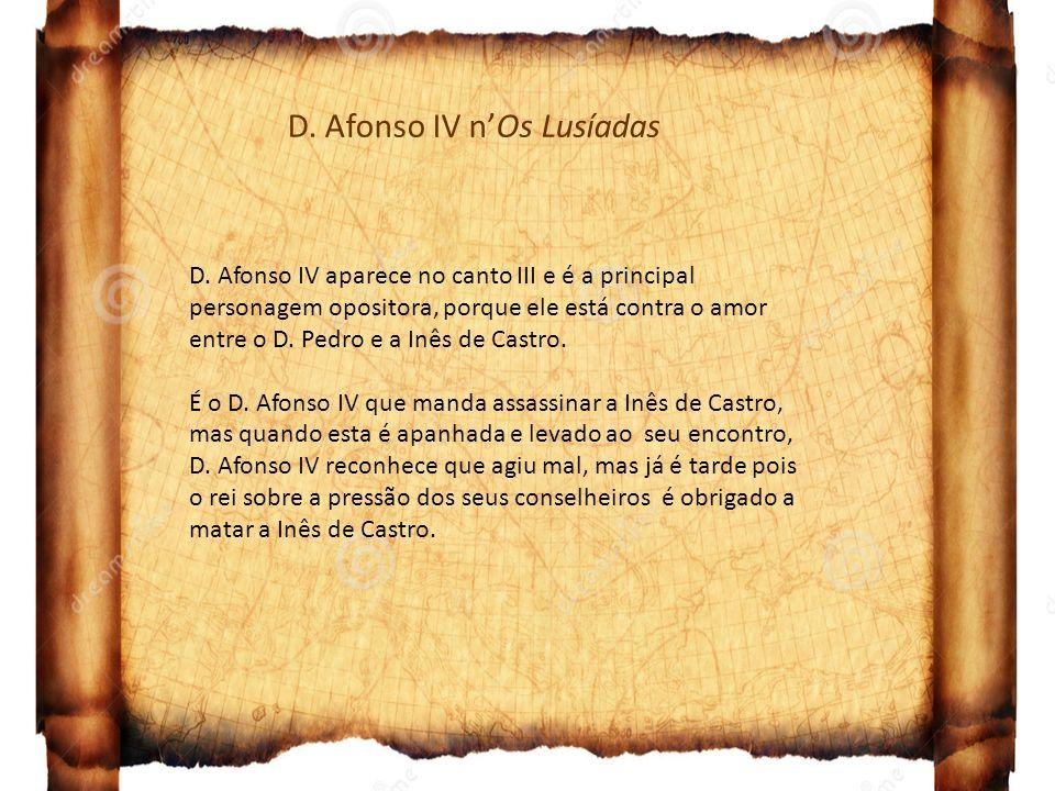 D. Afonso IV n'Os Lusíadas