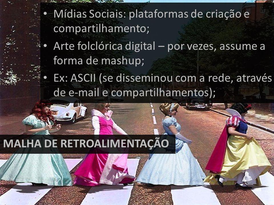 Mídias Sociais: plataformas de criação e compartilhamento;