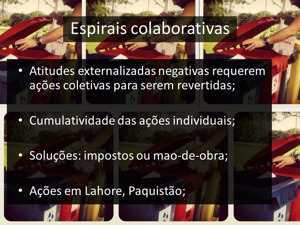 Espirais colaborativas