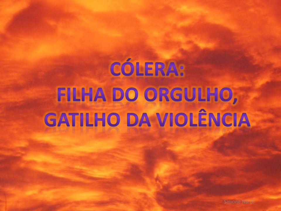 CÓLERA: FILHA DO ORGULHO,