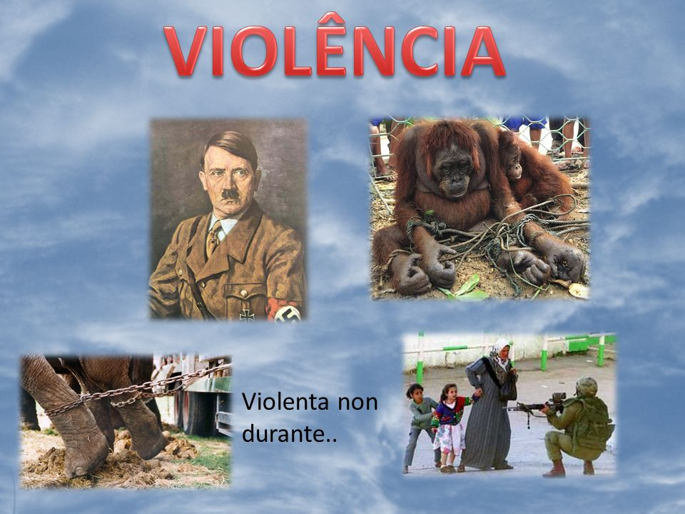 VIOLÊNCIA Violenta non durante..