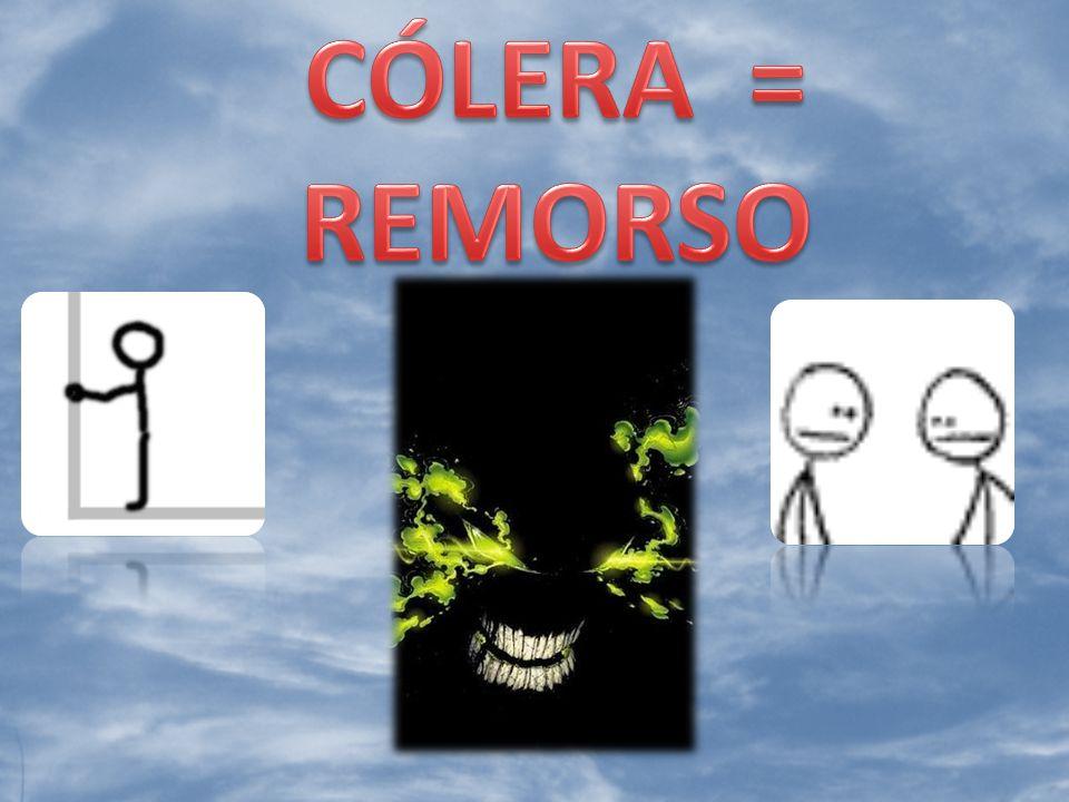 CÓLERA = REMORSO