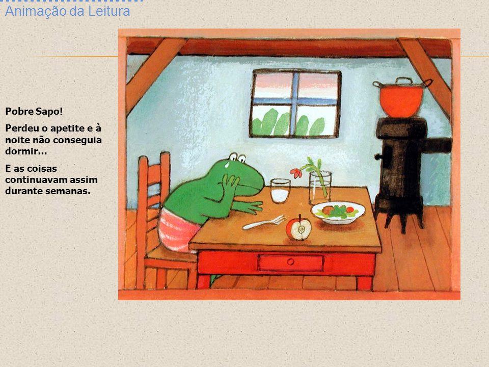 Animação da Leitura Pobre Sapo!