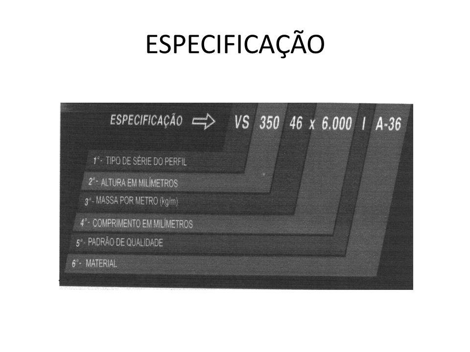 ESPECIFICAÇÃO
