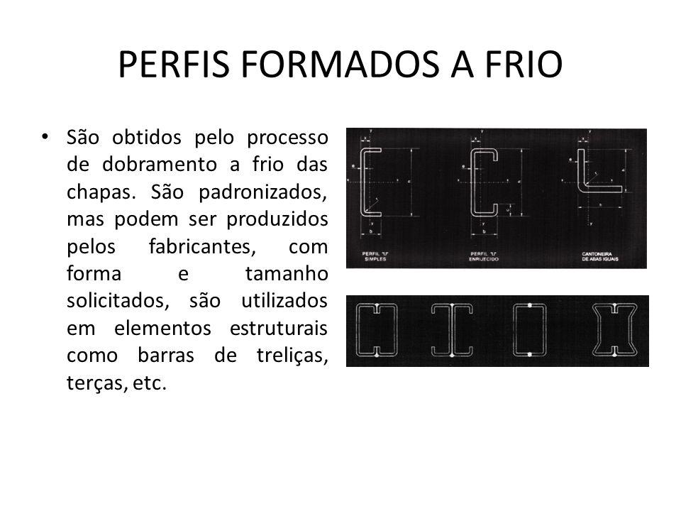 PERFIS FORMADOS A FRIO