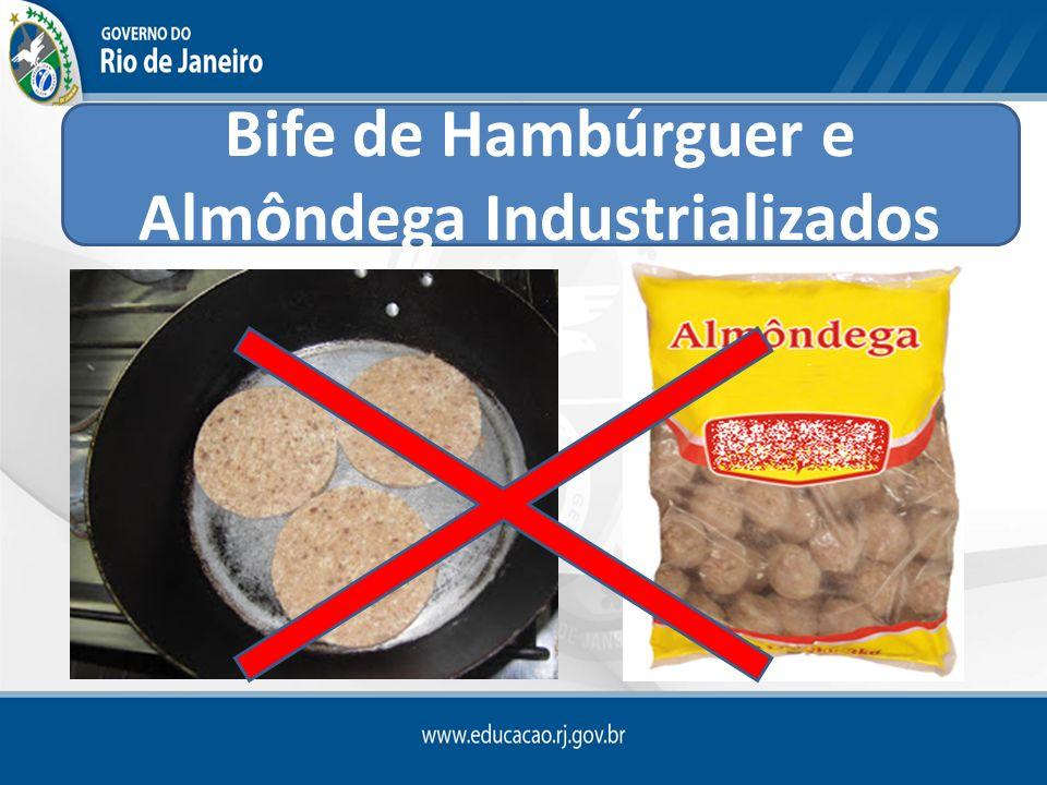 Bife de Hambúrguer e Almôndega Industrializados