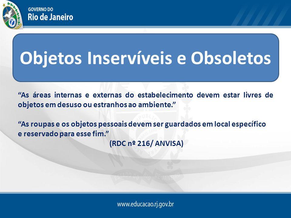 Objetos Inservíveis e Obsoletos