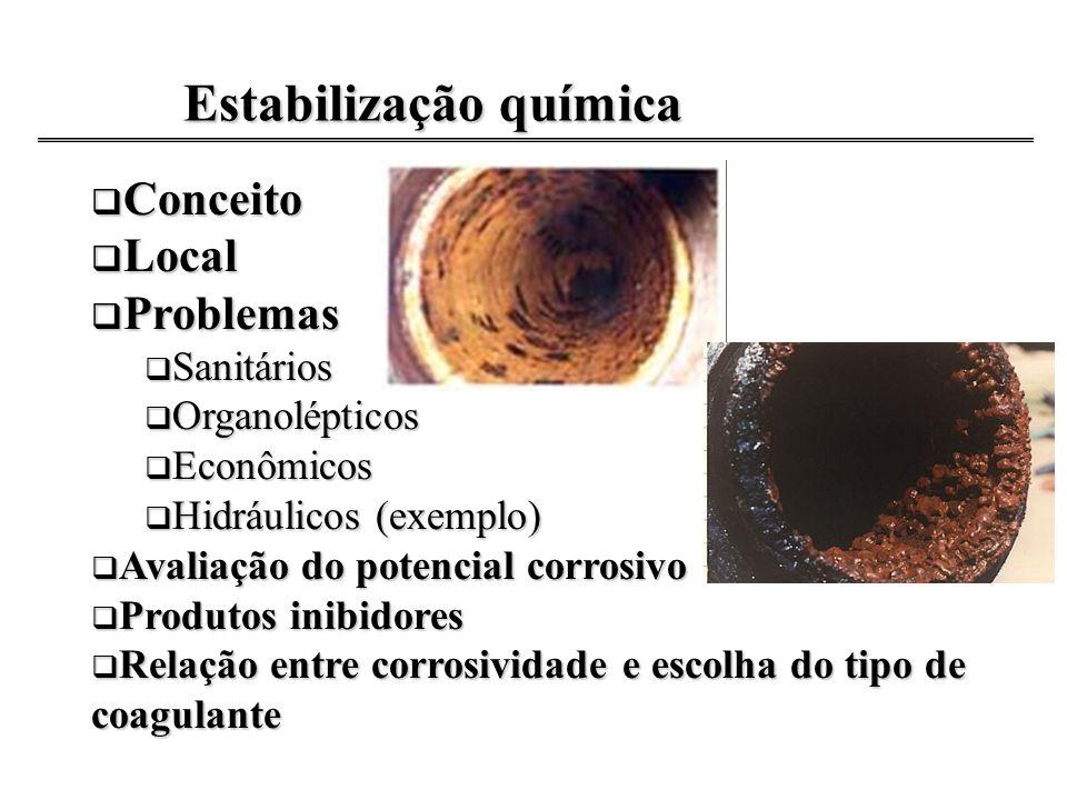 Estabilização química