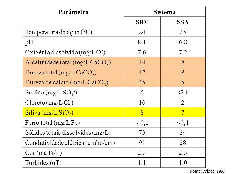 Parâmetro Sistema SRV SSA