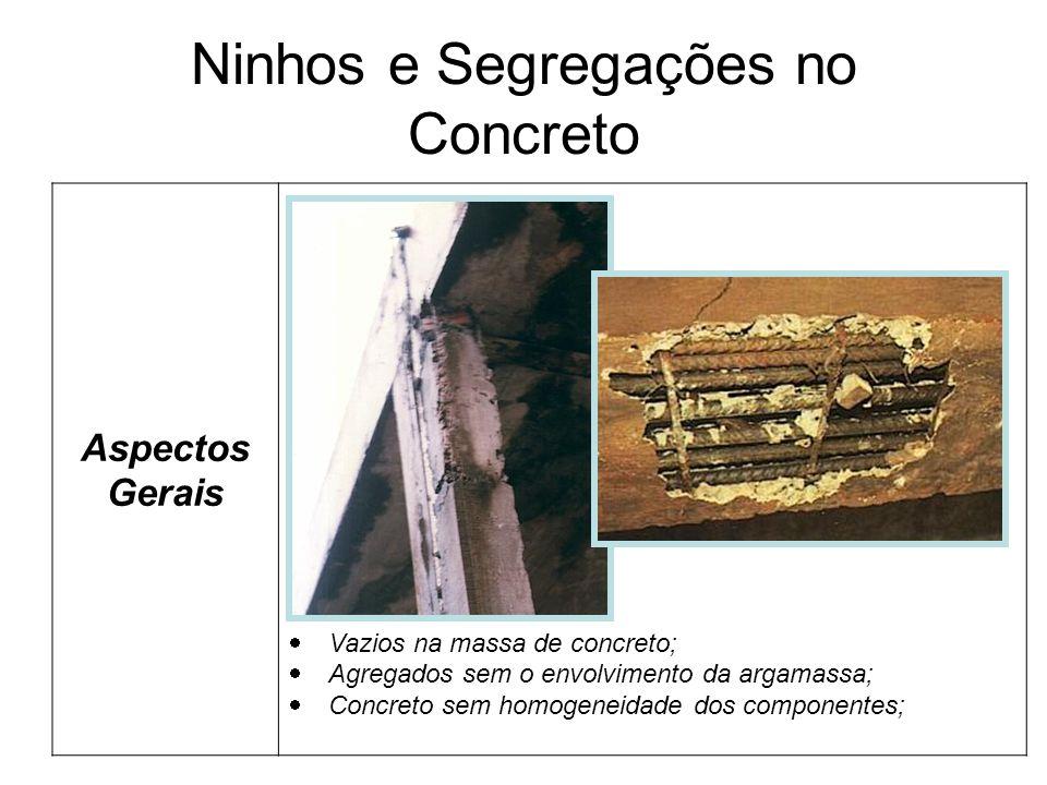 Ninhos e Segregações no Concreto