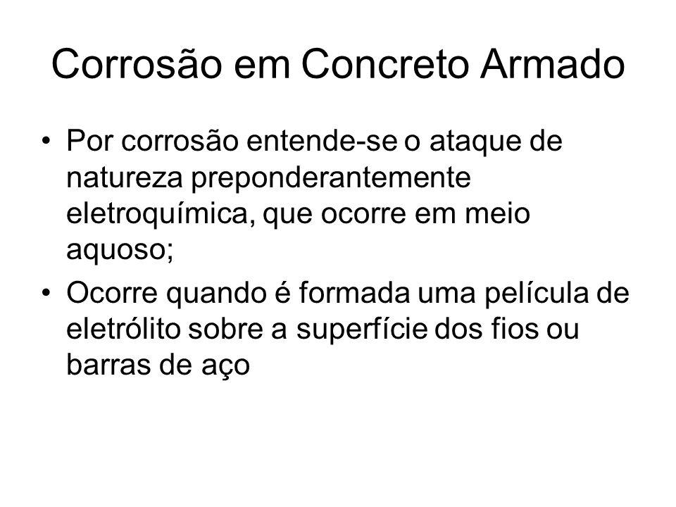 Corrosão em Concreto Armado