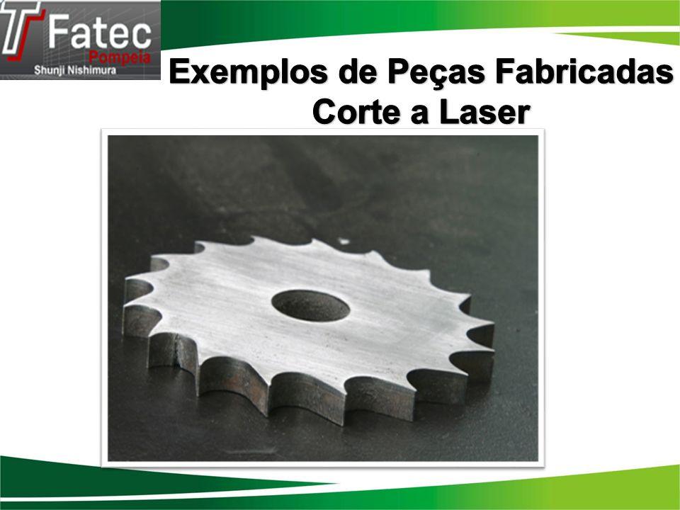 Exemplos de Peças Fabricadas Corte a Laser