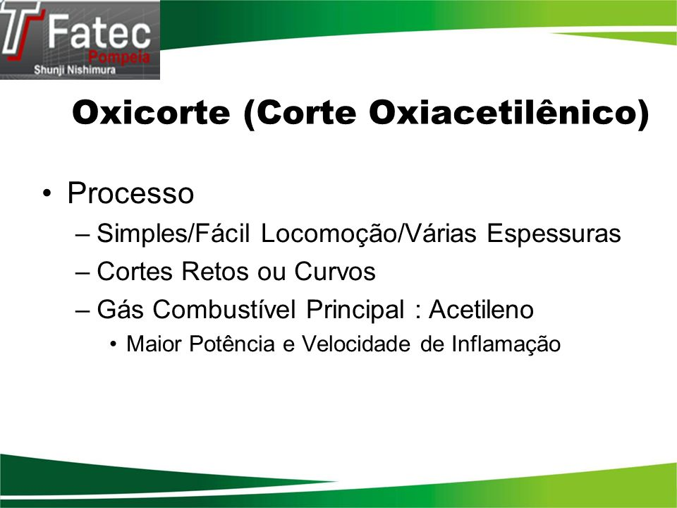Oxicorte (Corte Oxiacetilênico)