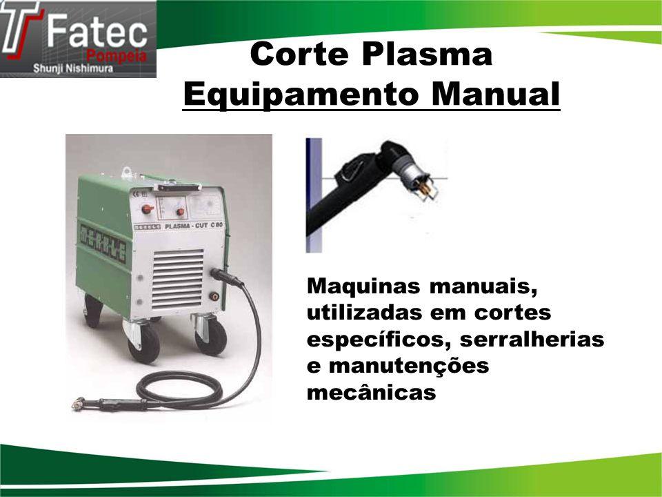 Corte Plasma Equipamento Manual
