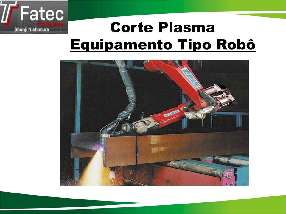 Corte Plasma Equipamento Tipo Robô