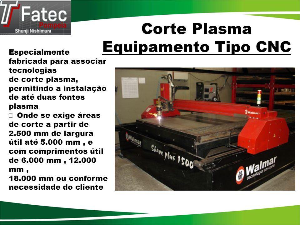 Corte Plasma Equipamento Tipo CNC
