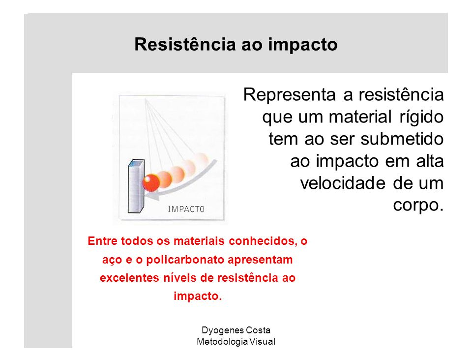 Resistência ao impacto