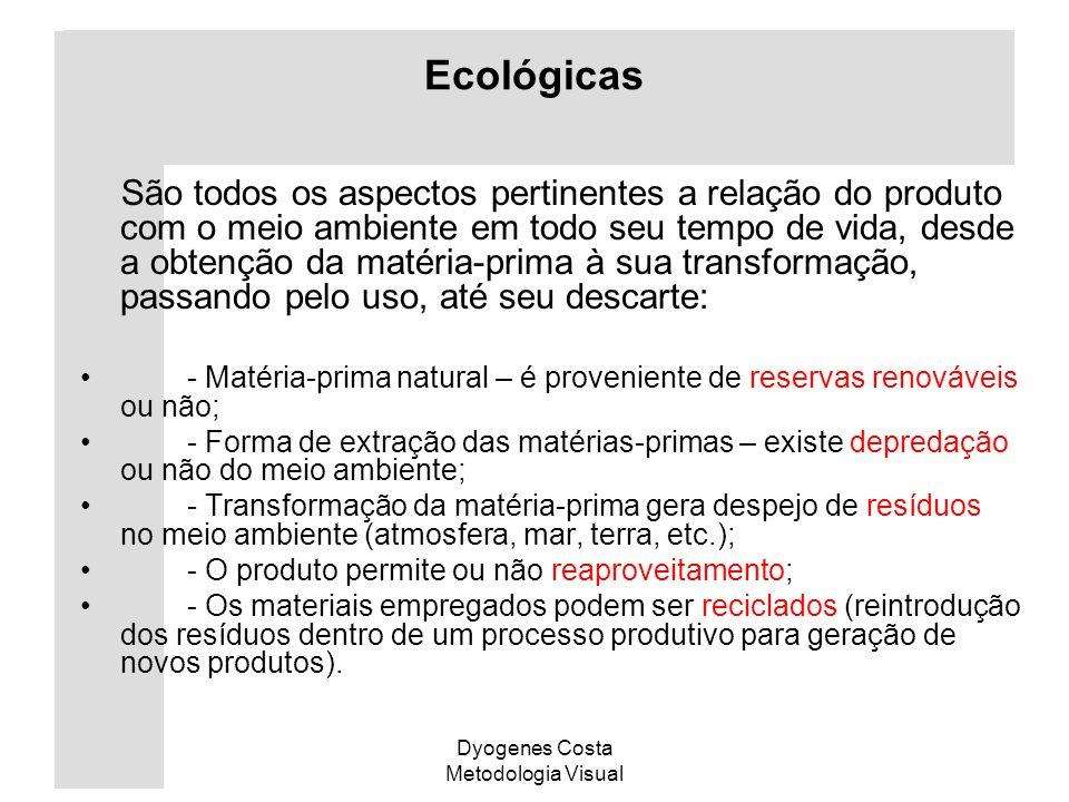 Ecológicas