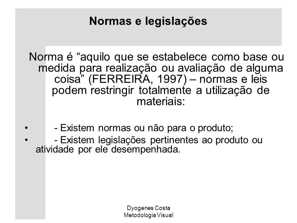 Normas e legislações