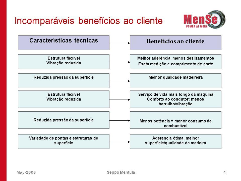 Incomparáveis benefícios ao cliente