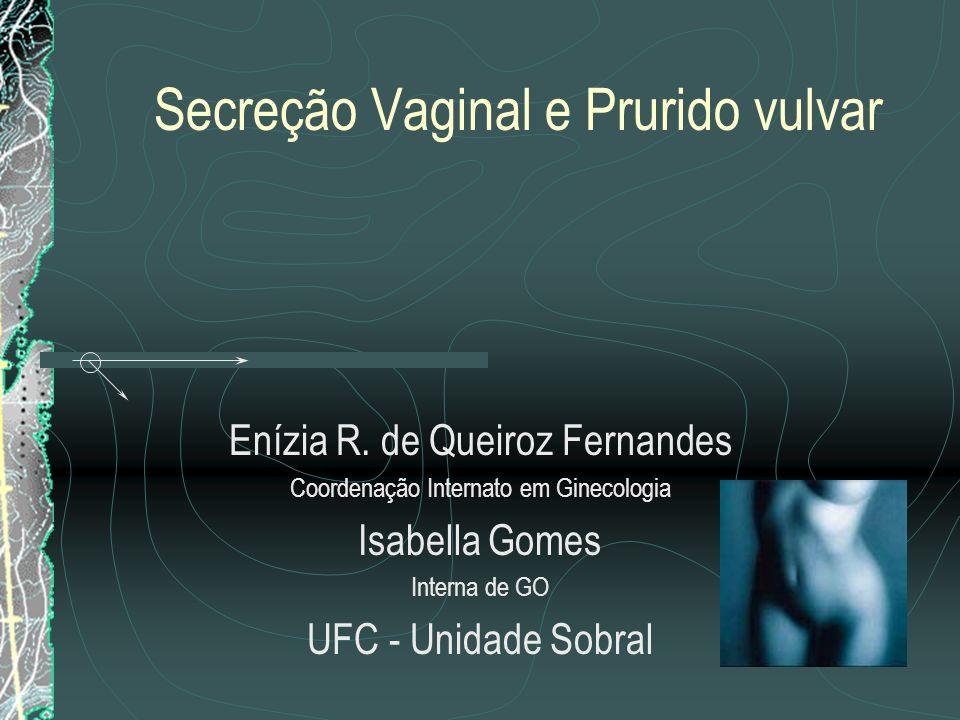 Secreção Vaginal e Prurido vulvar