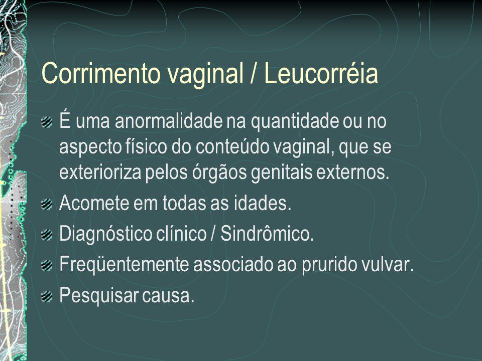 Corrimento vaginal / Leucorréia