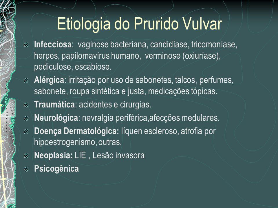 Etiologia do Prurido Vulvar