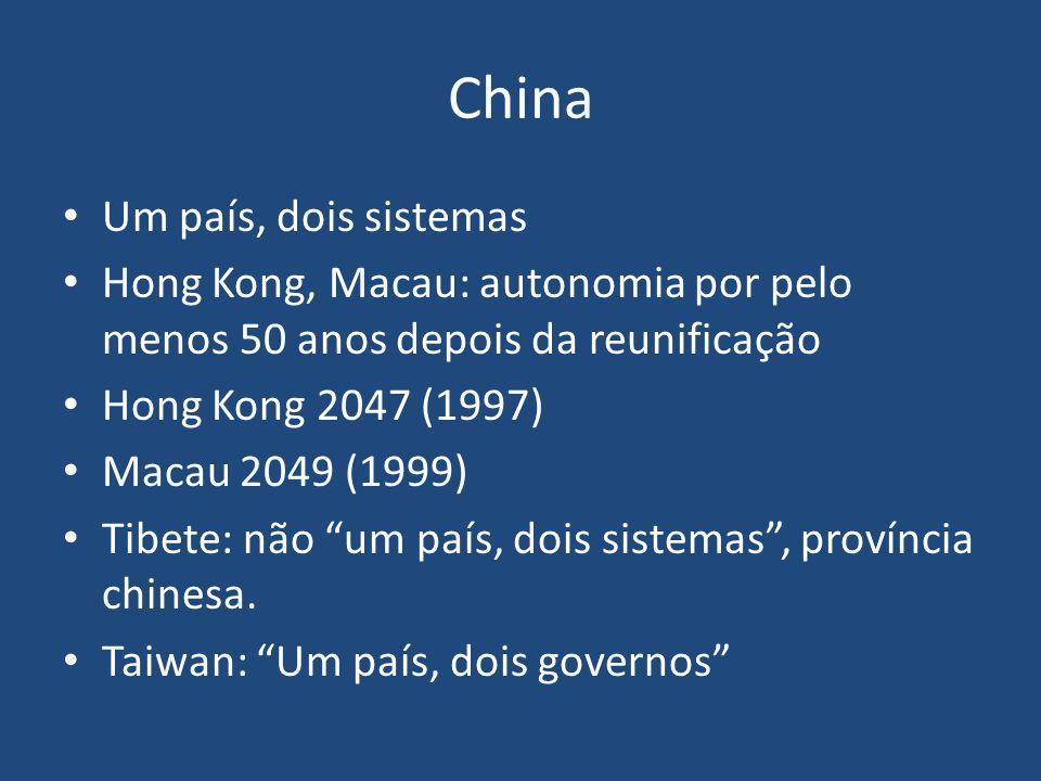 China Um país, dois sistemas