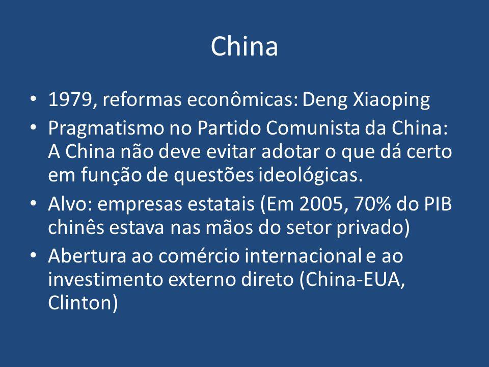 China 1979, reformas econômicas: Deng Xiaoping