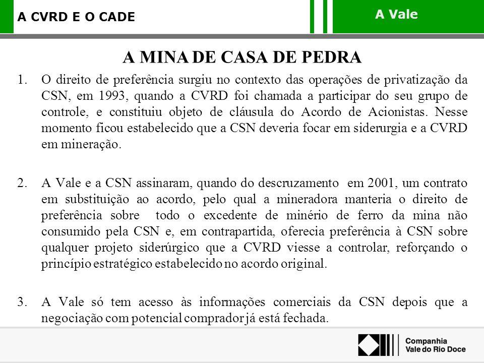A MINA DE CASA DE PEDRA