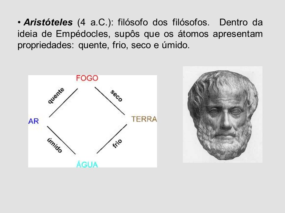 Aristóteles (4 a. C. ): filósofo dos filósofos
