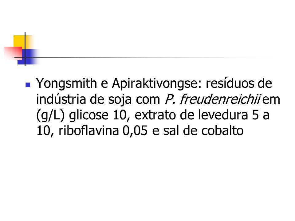 Yongsmith e Apiraktivongse: resíduos de indústria de soja com P