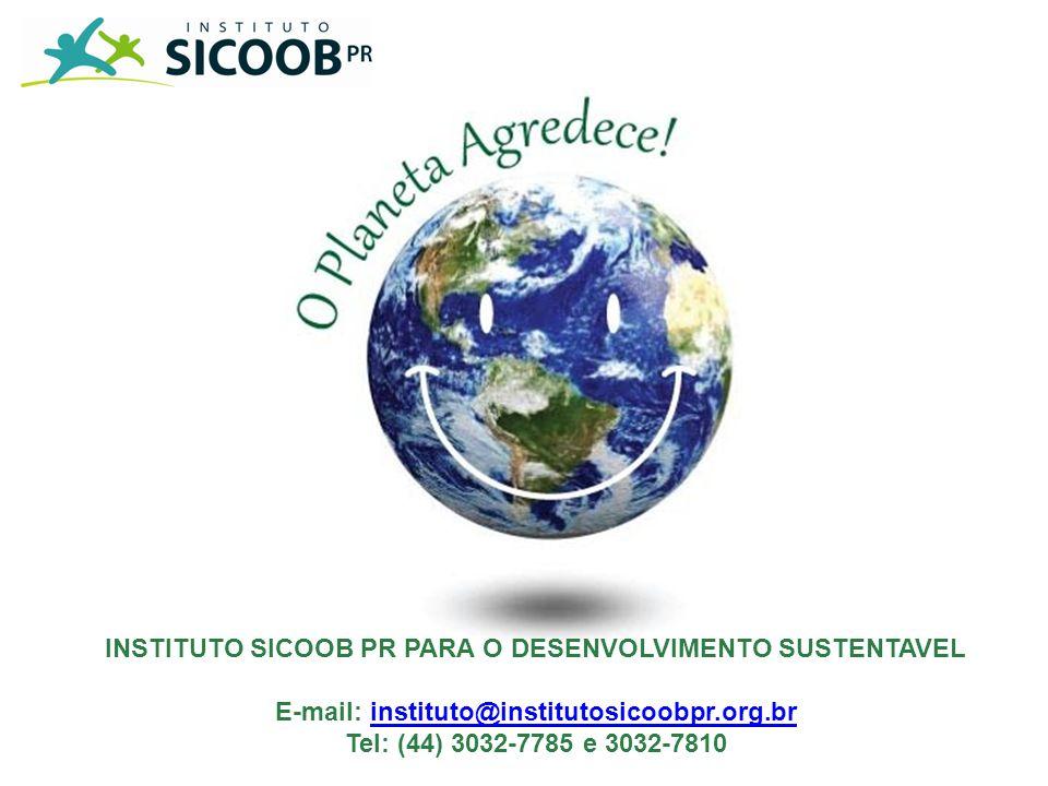 INSTITUTO SICOOB PR PARA O DESENVOLVIMENTO SUSTENTAVEL