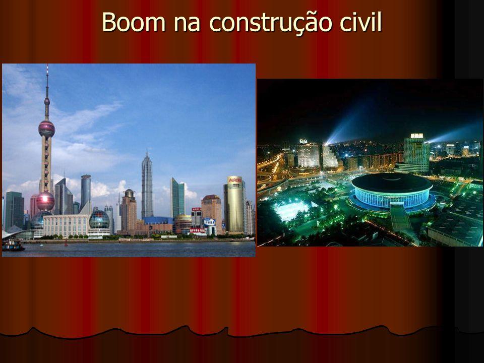 Boom na construção civil