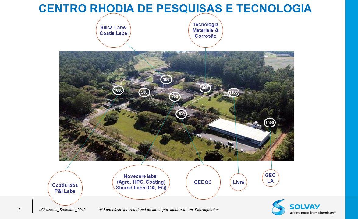 CENTRO RHODIA DE PESQUISAS E TECNOLOGIA
