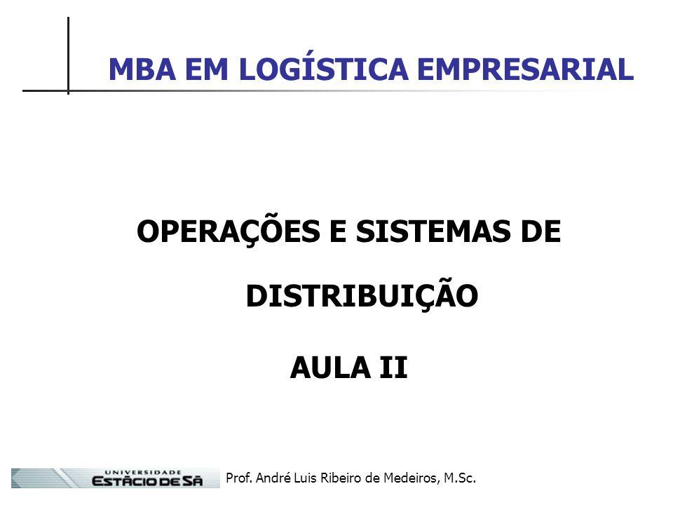 MBA EM LOGÍSTICA EMPRESARIAL