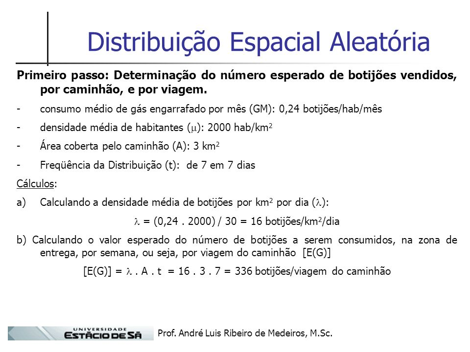 Distribuição Espacial Aleatória