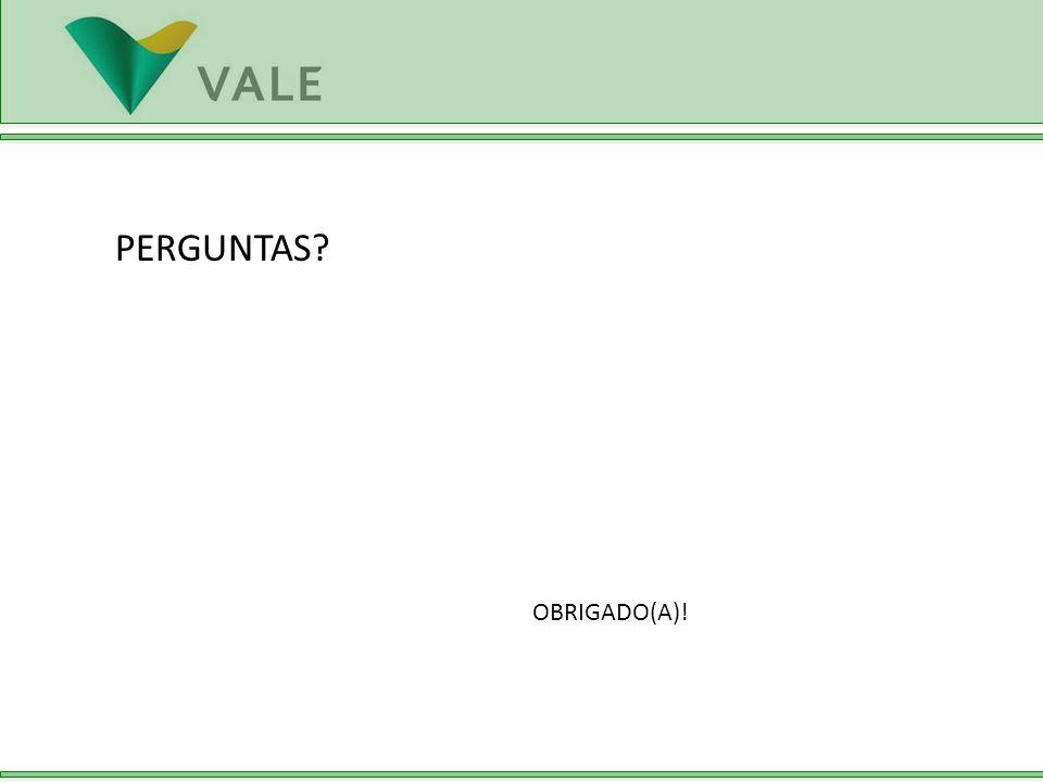 PERGUNTAS OBRIGADO(A)!