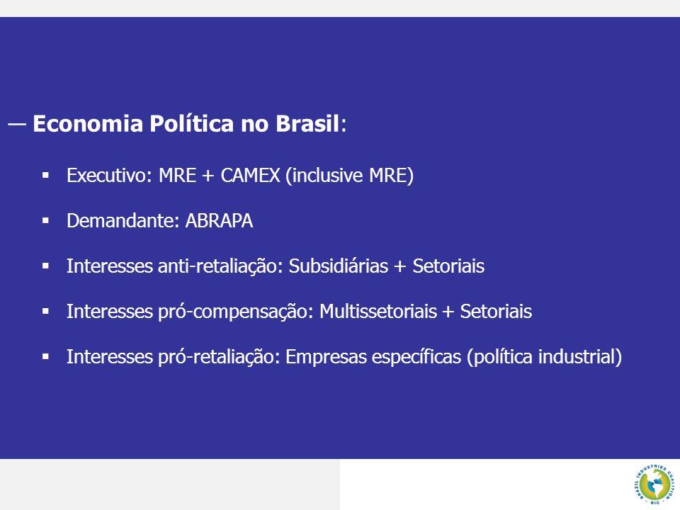 Economia Política no Brasil: