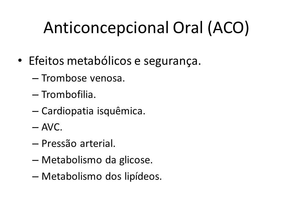 Anticoncepcional Oral (ACO)