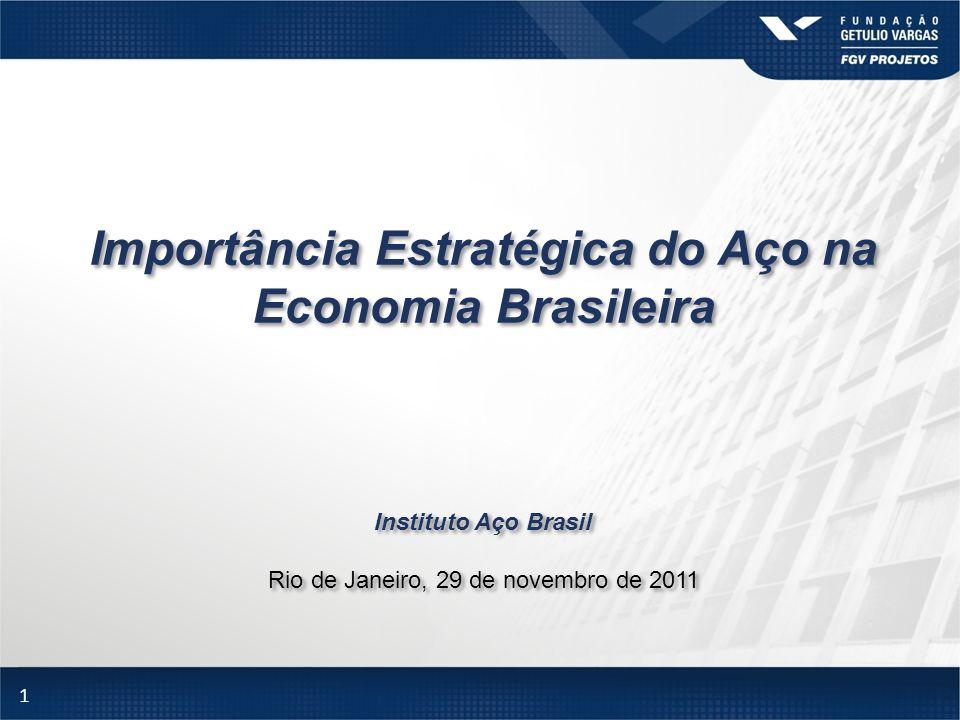 Importância Estratégica do Aço na Economia Brasileira