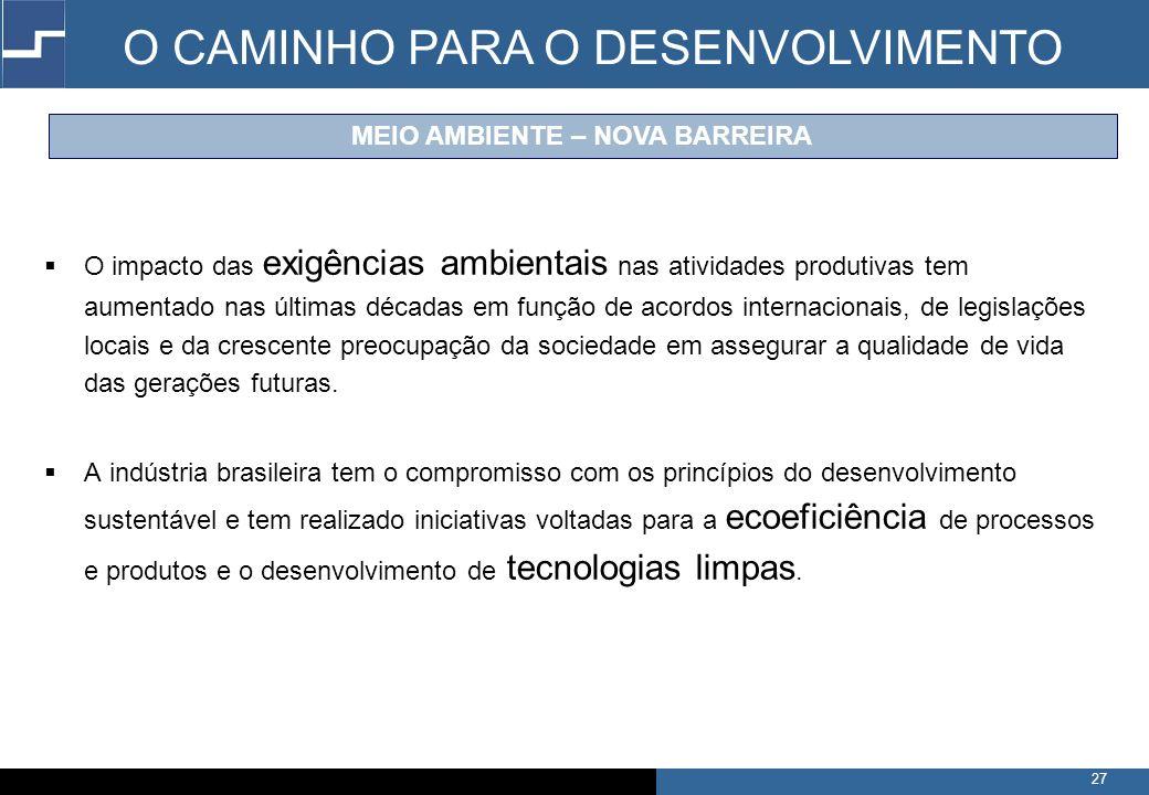 MEIO AMBIENTE – NOVA BARREIRA