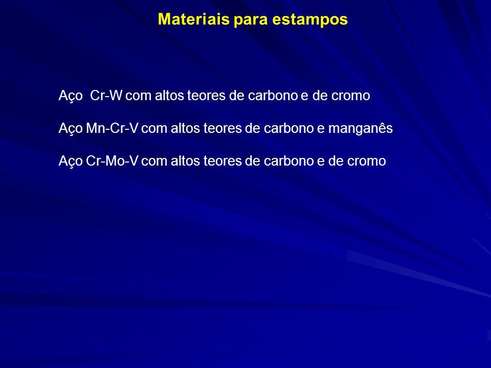 Materiais para estampos