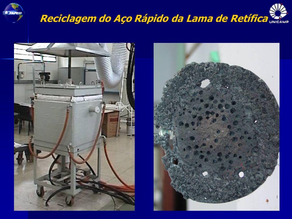 Reciclagem do Aço Rápido da Lama de Retífica
