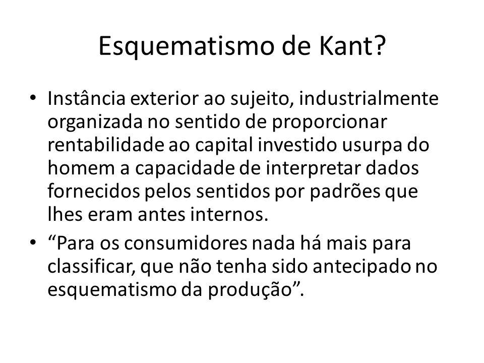 Esquematismo de Kant