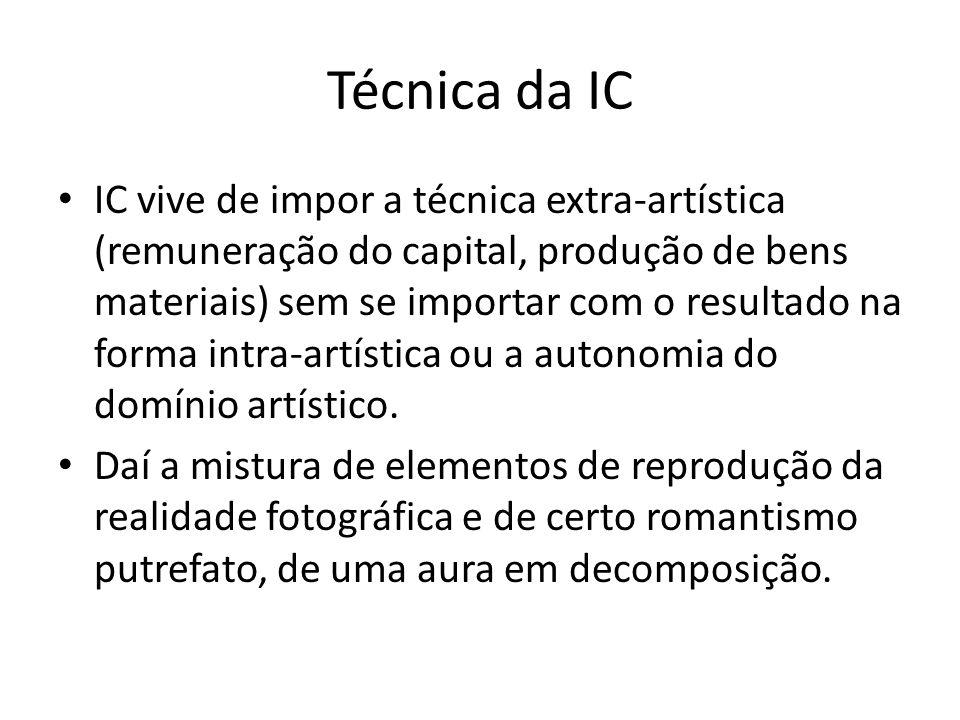 Técnica da IC